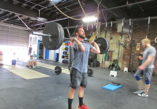 WOD 070814: Strict Presses Are My Favorite!! (Said no one ever)