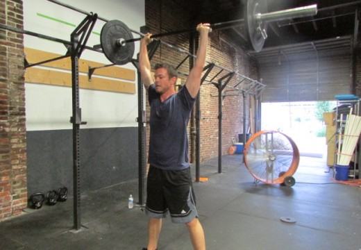 WOD 071614: One Heck of a shoulder burner!!