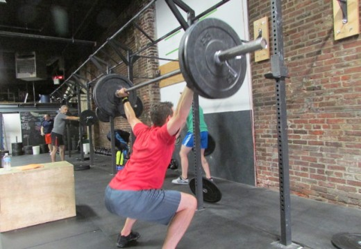 WOD 072214: Those Overhead Squats Are Nothing… Just Wait til We Get to Those Planks!!