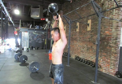 WOD 072614: It's All Kettle Bells and Rings Today!