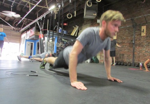 WOD 080514: Back Squats, Jazz Hands, and Dubbs!!