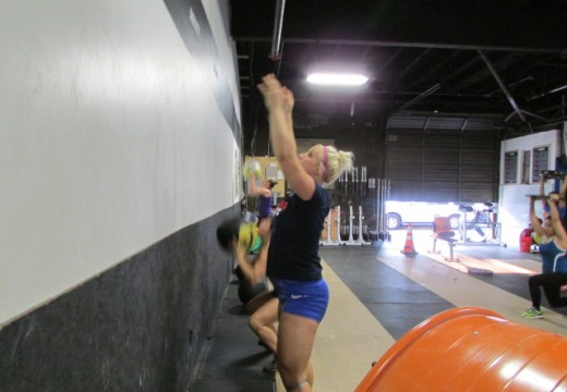 WOD 080714: Wall Ball Party and Everyone's Invited!!!