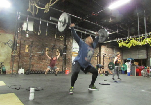 WOD 101614: All the Snatches… And Some Double Unders Just Because!