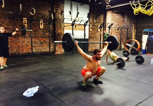 WOD 102814: 2 Snatches + ALL The Burpees