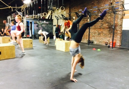 WOD 110514: Who Needs Legs When You Can Walk On Your Hands?!