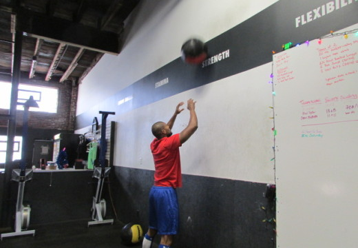 WOD 122714: 1 Round for You 1 Round for Me