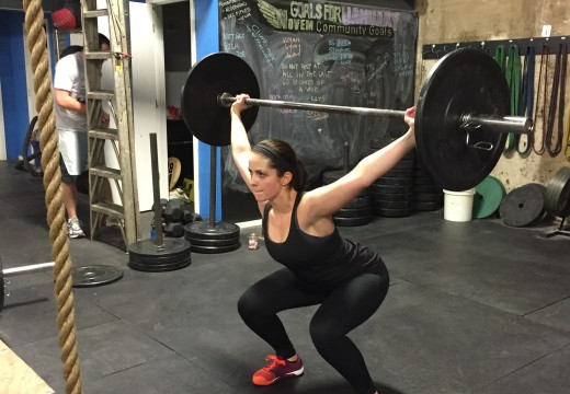 WOD 012315: Reach for the Ceiling!