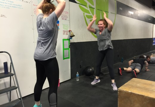 WOD 020715: Fitness is more fun when done in unison!