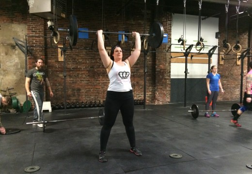WOD 021315: Burpees and Squat Cleans a Scary Combination
