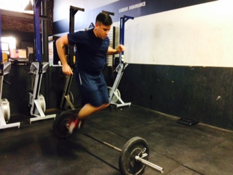 WOD 031915: Handstands and Lunges