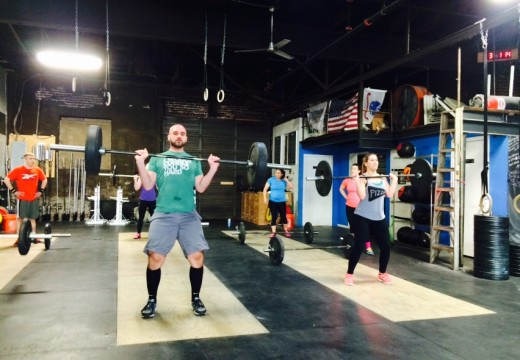 WOD 032115: How many rounds can you get in 5 minutes?