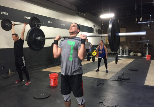 WOD 032415: Clean and Jerk Couplet