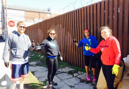 WOD 041115: Fitness and Neighborhood Cleanup!