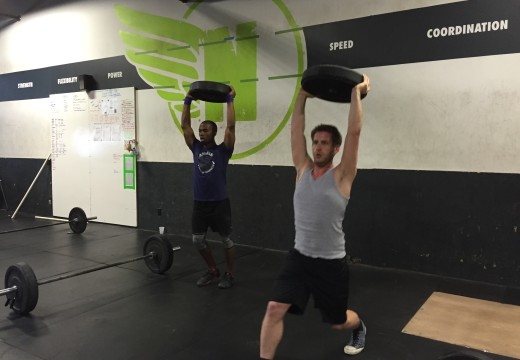 WOD 050615: Snatch and OHS