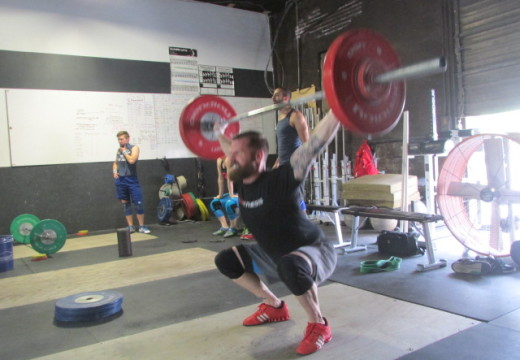 WOD 061415: Sprint for those Burpees