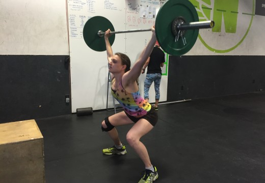 WOD 070615: Overhead and Away We Go!