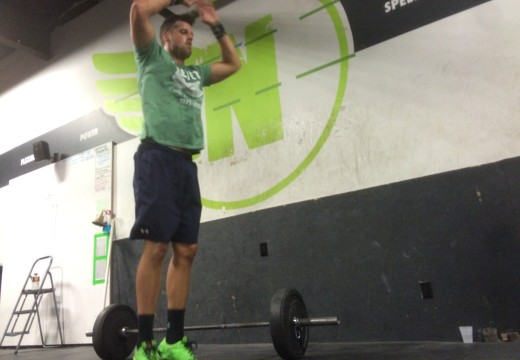 WOD 080415: Its just 5 Reps…