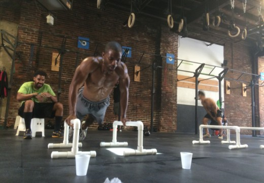 WOD 081515: Jump over this!