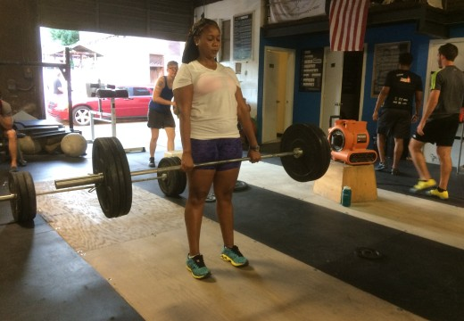 WOD 082615: Step Ups are Easier Right?