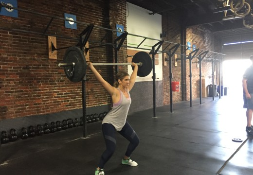 WOD 091115: One Step at a Time