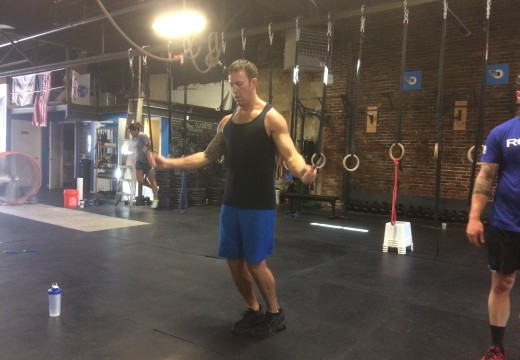 WOD 091515: All the Shoulders