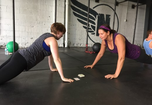 WOD 091915:  Saturday Team Fun
