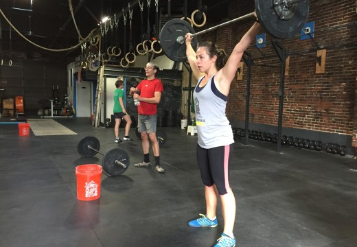 WOD 101815: Sunday means football and Overhead Squats