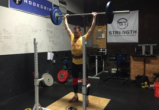 WOD 110515: Clean and Jerk Complex