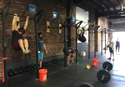 WOD 110715: Team Track and Field Day!
