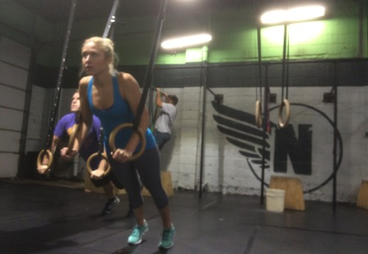 WOD 112215: Thrusters and Pullup Ladder