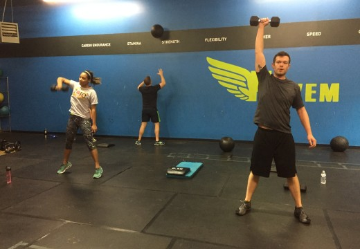 WOD 122915: All the Power Cleans
