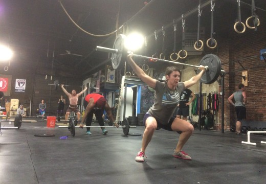 WOD 010815: 100 Wall Balls and some other ish…