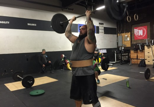 WOD 011816: Hopping on that PR Train!