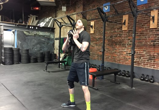 WOD 030316: Bench Press Toes to Bar