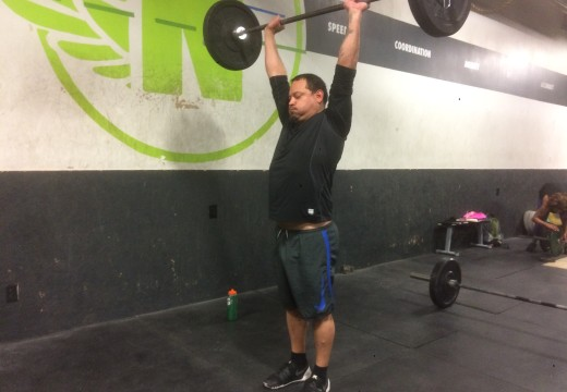 WOD 040416: Ground to Overhead and Squats