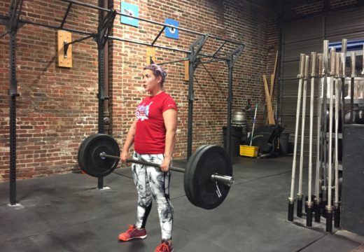 WOD 041416: Deadlifts and Dips