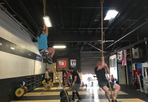 WOD 060216: High Socks and Handstand Push Ups