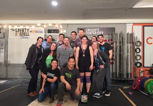 WOD 050116: Fight Gone Bad with Liberty and Broad Street!