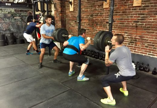 WOD 071816: Gettin' Heavy with your Back Squat!