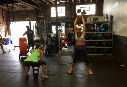 WOD 090516: Team Eva on Labor Day!