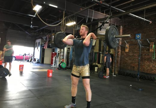 WOD 090716: Bon Voyage & Burpees Over the Bar!