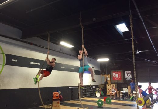 WOD 090916: Time to Try that Rope Climb!
