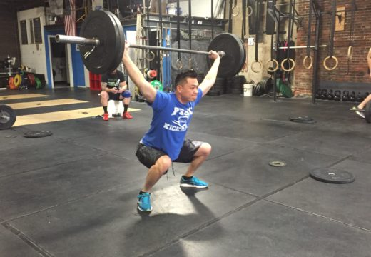WOD110316: One Rep Max Snatch!
