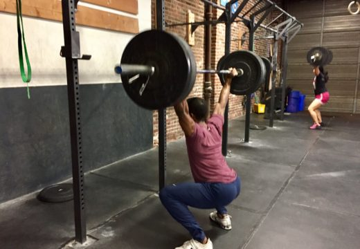 WOD110416: Max Out Week Continues: Overhead Squats