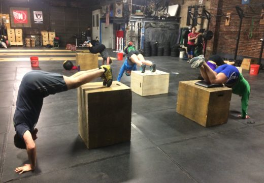 WOD122216: HSPU Scaling Success!
