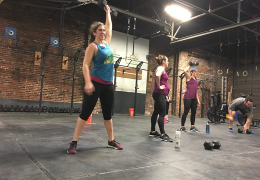 WOD021417: Dumbbell Snatches for my Valentine!