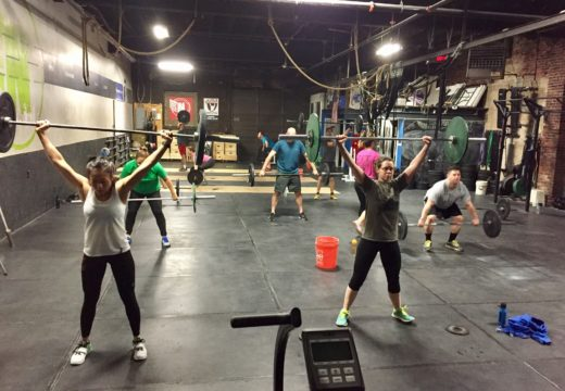WOD021517: Snatches & Bar-Facing Burpees