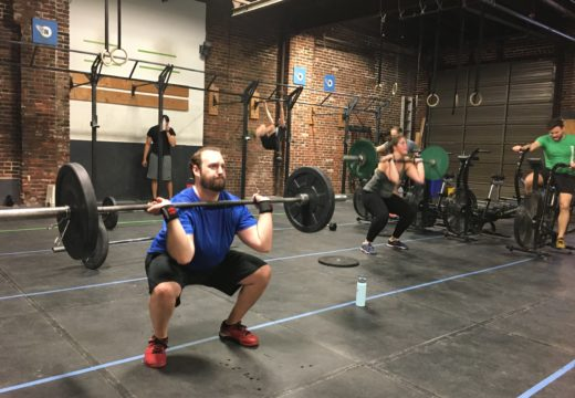 WOD031517: Handstand Pushup Complex and Back Squats