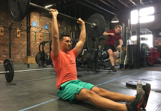 WOD033017: Seated Strict Press!