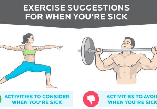 Working Out Sick… Should you sweat it out? Or rest and recover?